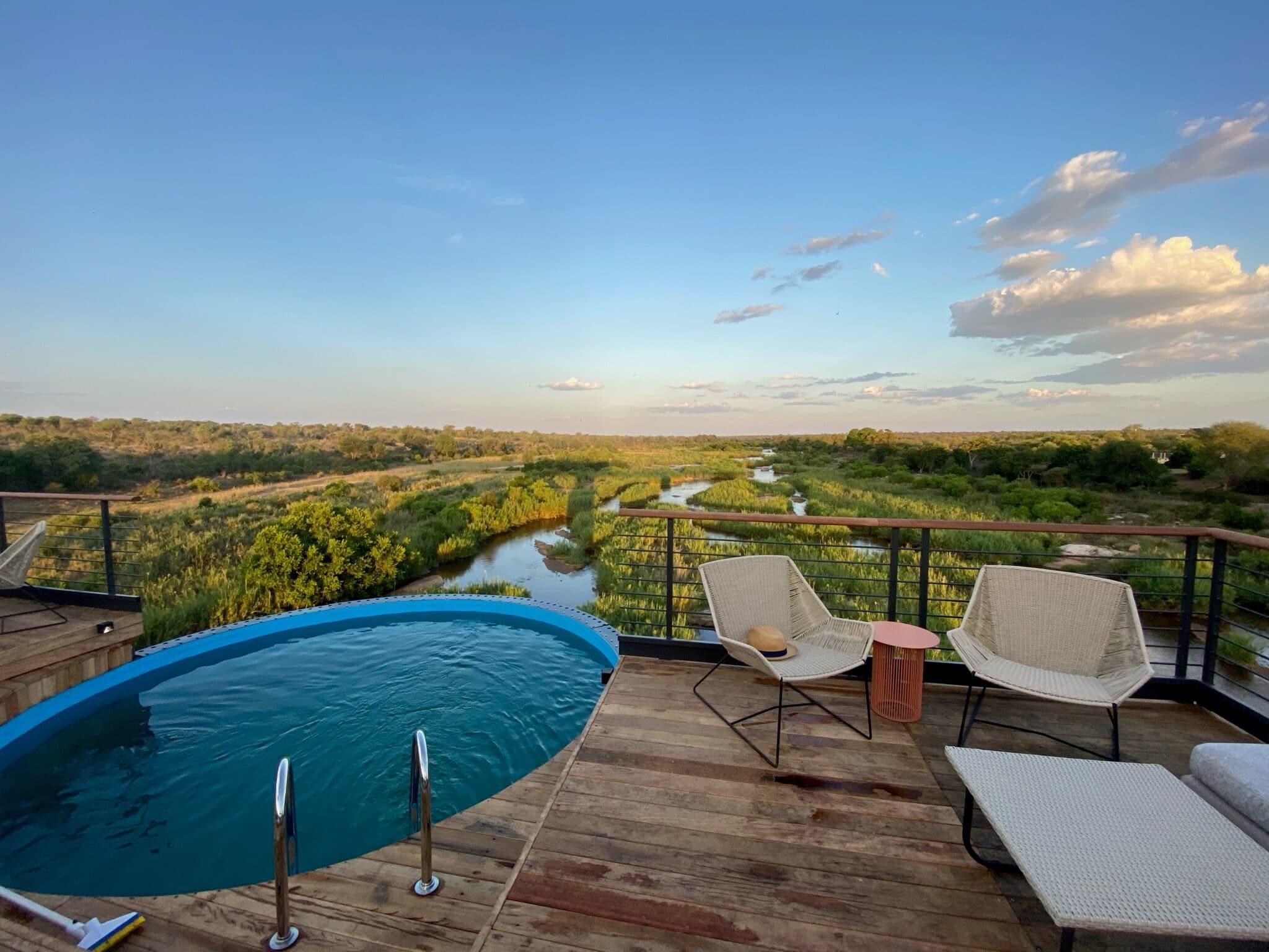 AFRIQUE DU SUD Train Hotel_Pool deck