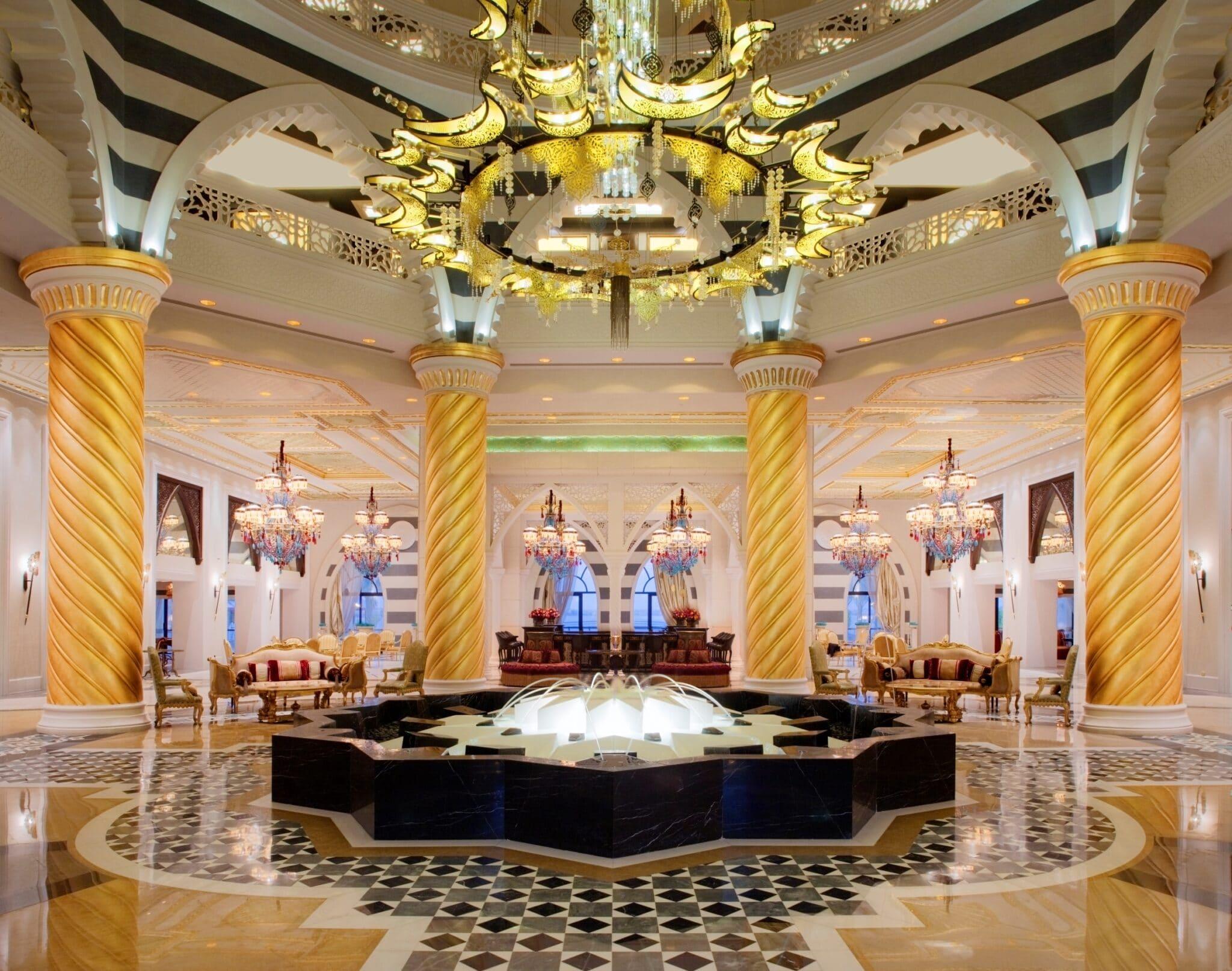 Carrousel 13 Jumeirah Zabeel Saray Lobby Fountain 1
