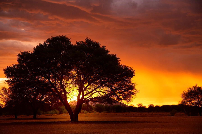 NAMIBIE sunset