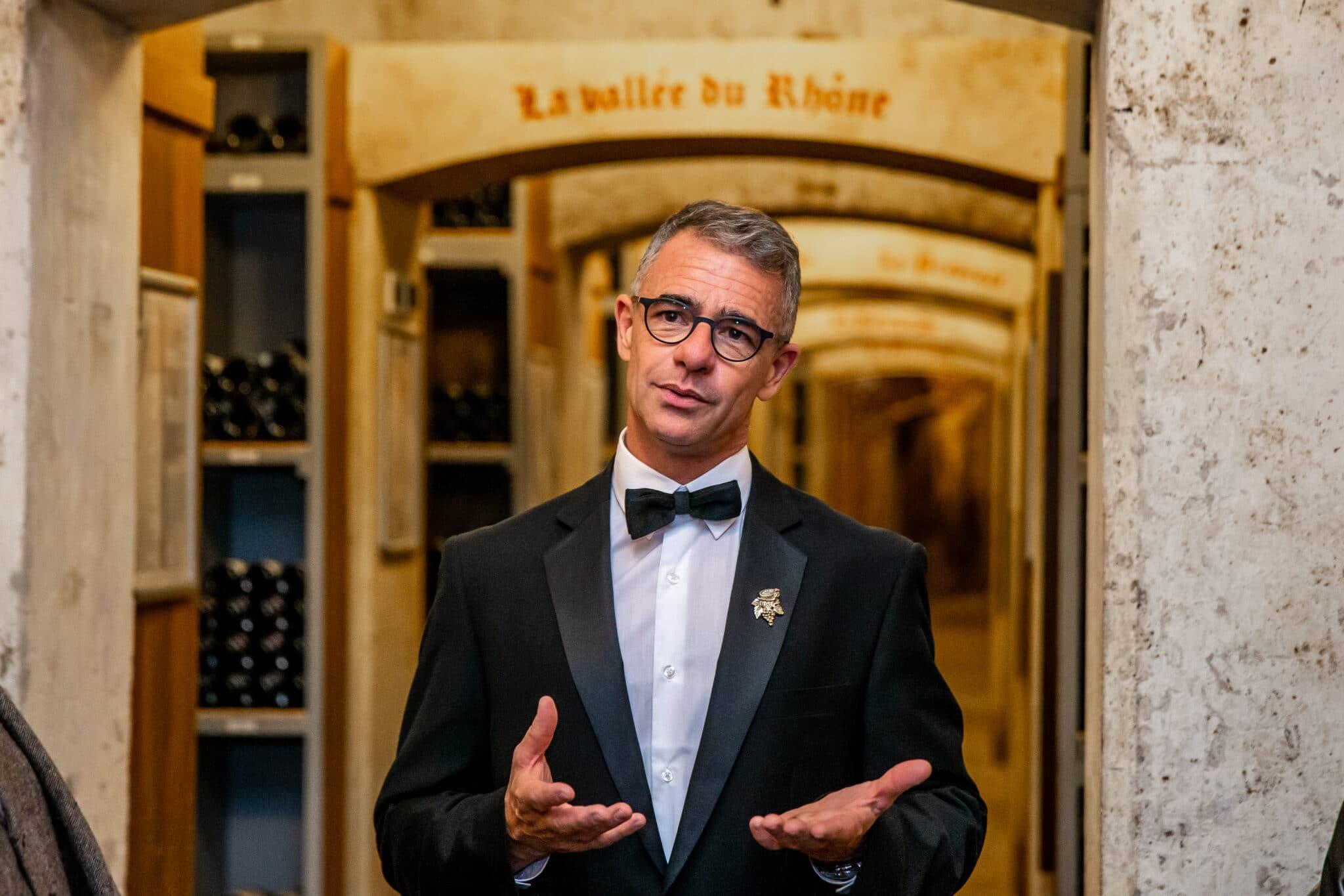 Soirée Amex Centurion dans les Caves de l'Hôtel de Paris, S.B.M. Monaco, le 12 Avril 2019