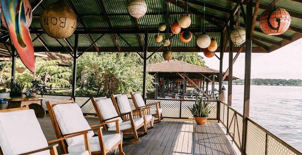 Mawamba Lodge main pier 1